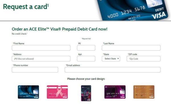 visa prepaid card sign in