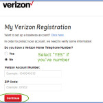 verizon mail login