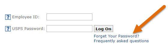 Reset LiteBlue USPS Password