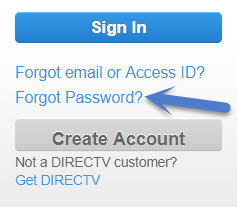 reset directtv login password