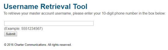 twc username retrieval